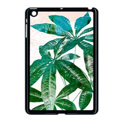 Pachira Leaves  Apple Ipad Mini Case (black) by DanaeStudio