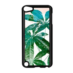 Pachira Leaves  Apple Ipod Touch 5 Case (black) by DanaeStudio