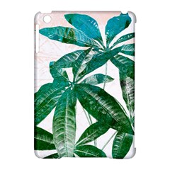 Pachira Leaves  Apple Ipad Mini Hardshell Case (compatible With Smart Cover) by DanaeStudio