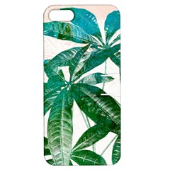 Pachira Leaves  Apple Iphone 5 Hardshell Case With Stand by DanaeStudio