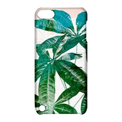 Pachira Leaves  Apple Ipod Touch 5 Hardshell Case With Stand by DanaeStudio
