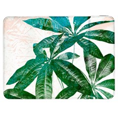 Pachira Leaves  Samsung Galaxy Tab 7  P1000 Flip Case by DanaeStudio