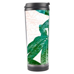 Pachira Leaves  Travel Tumbler by DanaeStudio