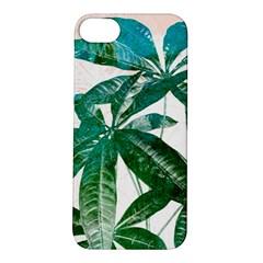 Pachira Leaves  Apple Iphone 5s/ Se Hardshell Case by DanaeStudio