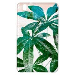 Pachira Leaves  Samsung Galaxy Tab Pro 8 4 Hardshell Case by DanaeStudio