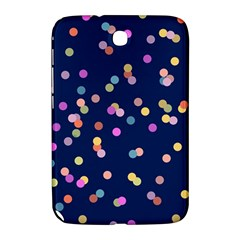Playful Confetti Samsung Galaxy Note 8 0 N5100 Hardshell Case  by DanaeStudio