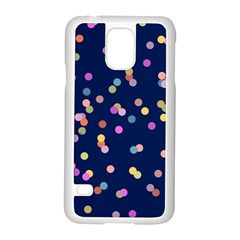 Playful Confetti Samsung Galaxy S5 Case (white) by DanaeStudio