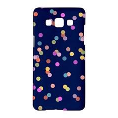 Playful Confetti Samsung Galaxy A5 Hardshell Case  by DanaeStudio