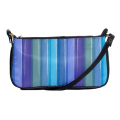Provence Fields Lavender Pattern Shoulder Clutch Bags by DanaeStudio