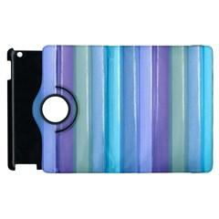 Provence Fields Lavender Pattern Apple Ipad 3/4 Flip 360 Case by DanaeStudio