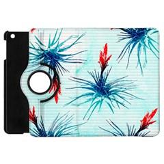 Tillansia Flowers Pattern Apple Ipad Mini Flip 360 Case by DanaeStudio