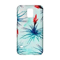 Tillansia Flowers Pattern Samsung Galaxy S5 Hardshell Case  by DanaeStudio