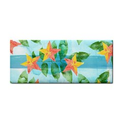 Tropical Starfruit Pattern Cosmetic Storage Cases by DanaeStudio