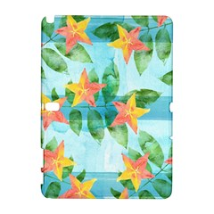 Tropical Starfruit Pattern Galaxy Note 1 by DanaeStudio