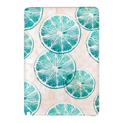 Turquoise Citrus And Dots Samsung Galaxy Tab Pro 10 1 Hardshell Case by DanaeStudio