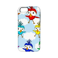 Cute Colorful Birds  Apple Iphone 5 Classic Hardshell Case (pc+silicone) by Valentinaart