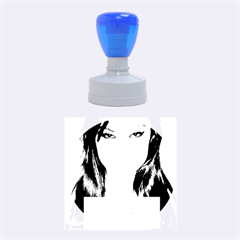 Sasha Grey Love Rubber Round Stamps (medium) by Onesevenart