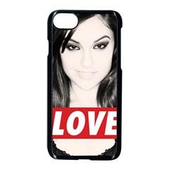 Sasha Grey Love Apple Iphone 7 Seamless Case (black) by Onesevenart