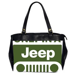 Only In A Jeep Logo Office Handbags (2 Sides)  by Onesevenart