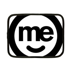 Me Logo Netbook Case (Small)  by Onesevenart
