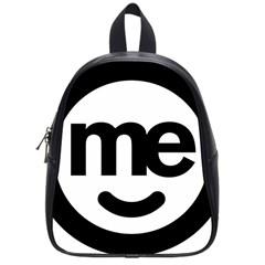 Me Logo School Bags (small)  by Onesevenart