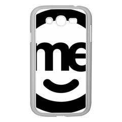 Me Logo Samsung Galaxy Grand Duos I9082 Case (white) by Onesevenart