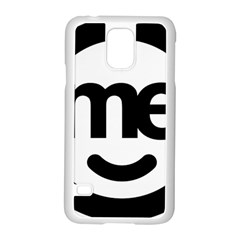 Me Logo Samsung Galaxy S5 Case (white) by Onesevenart