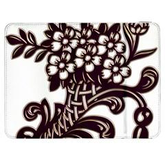 Purple Wood Ornaments Samsung Galaxy Tab 7  P1000 Flip Case by Onesevenart