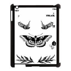 Harry Styles Tattoos Apple Ipad 3/4 Case (black) by Onesevenart