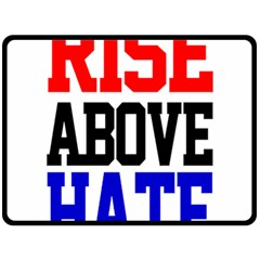 John Cena Rise Above Hate 2 Double Sided Fleece Blanket (large)  by Onesevenart