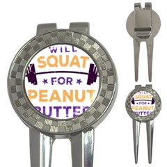Will Squat For Peanut Butter 3 In 1 Golf Divots