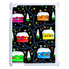 Winter Magical Night Apple Ipad 2 Case (white) by Valentinaart