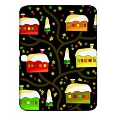 Winter  Night  Samsung Galaxy Tab 3 (10 1 ) P5200 Hardshell Case  by Valentinaart
