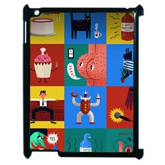 The Oxford Dictionary Illustrated Apple Ipad 2 Case (black) by Onesevenart