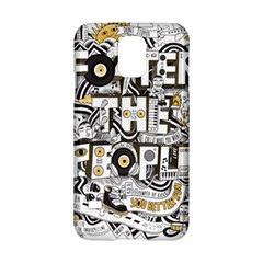 Foster The People Creative Typography Samsung Galaxy S5 Hardshell Case  by Onesevenart