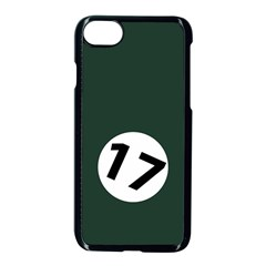 British Racing Green Apple Iphone 7 Seamless Case (black) by PocketRacers
