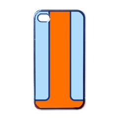 Gulf No Logo Apple Iphone 4 Case (black) by PocketRacers