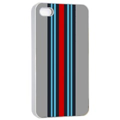 Martini No Logo Apple Iphone 4/4s Seamless Case (white) by PocketRacers