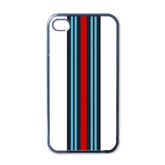 Martini White No Logo Apple Iphone 4 Case (black) by PocketRacers