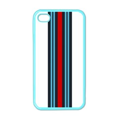 Martini White No Logo Apple Iphone 4 Case (color) by PocketRacers