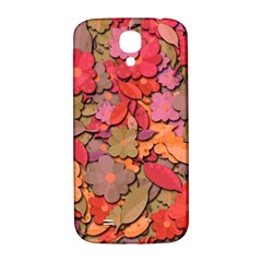 Beautiful Floral Design Samsung Galaxy S4 I9500/i9505  Hardshell Back Case by Valentinaart