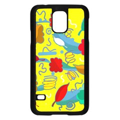 Weather Samsung Galaxy S5 Case (black) by Valentinaart