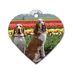 Bracco Italiano Group Dog Tag Heart (two Sides) by TailWags