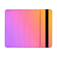 Blank Desk Pink Yellow Purple Samsung Galaxy Tab Pro 8 4  Flip Case by AnjaniArt