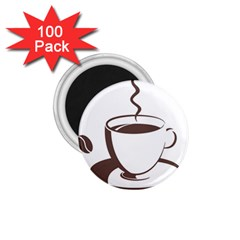 Coffee Beans 1 75  Magnets (100 Pack)  by AnjaniArt