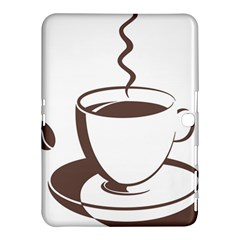 Coffee Beans Samsung Galaxy Tab 4 (10 1 ) Hardshell Case  by AnjaniArt