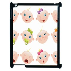 Cute Baby Picture Apple Ipad 2 Case (black) by AnjaniArt