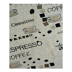 Coffe Cup Shower Curtain 60  X 72  (medium)  by AnjaniArt