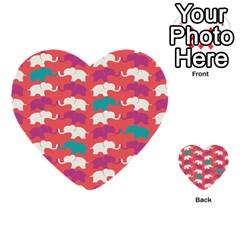 Elephant Multi Purpose Cards (heart)  by AnjaniArt