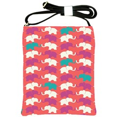 Elephant Shoulder Sling Bags by AnjaniArt